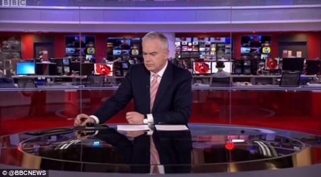The Welsh presenter, 56, appears to have changed his posture in recent days...and plenty of viewers have noticed, with some suggesting there's forces beyond Huw at play