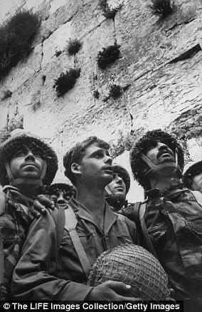 Israeli soldiers after capturing East Jerusalem from Jordan in 1967.