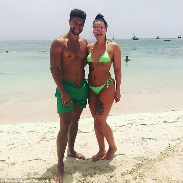 Not getting back together: Rak-Su band memberMyles Stephenson (left) has reportedly shot down claims he was reconciling with ex Rebecca Bignell (right) on Wednesday, as it was reported that they were headed for crunch talks