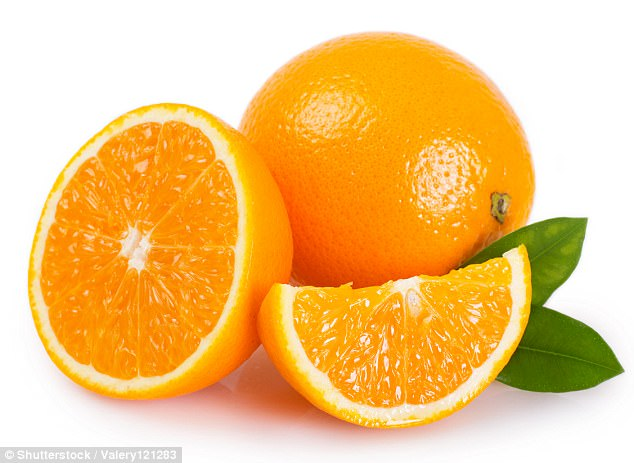 There is some evidence that taking vitamin C, found in oranges, will shorten the duration of an infection, says Alasdair Mace, an Ear, Nose and Throat consultant based at Charing Cross and St Mary's Hospitals in London
