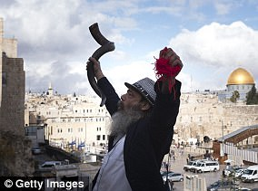 Three faiths, one city: Jews revere the Western Wall, Christians the Holy Sepulchre and Muslims the Dome of the rock