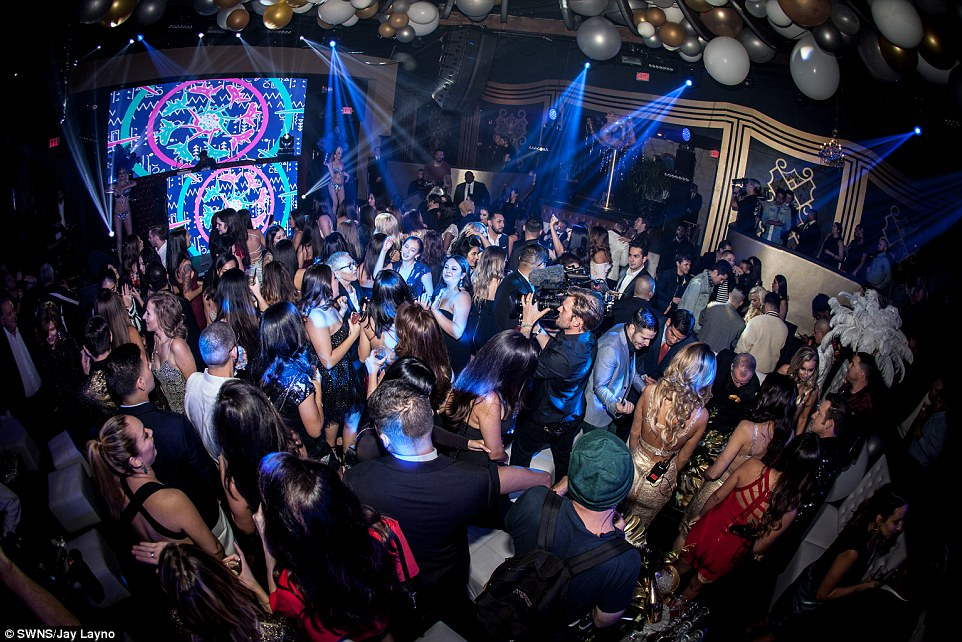 That's rich! Thomas Henry Jr. celebrated his 18th birthday with a luxe bash this wekend