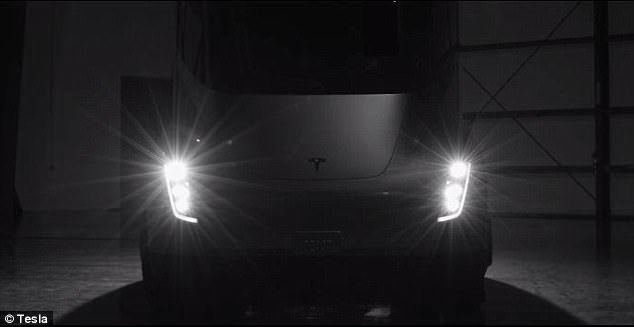 Tesla CEO Elon Musk unveiled the big rig, dubbed the Tesla Semi, in November by riding the truck into an airport hangar near Los Angeles