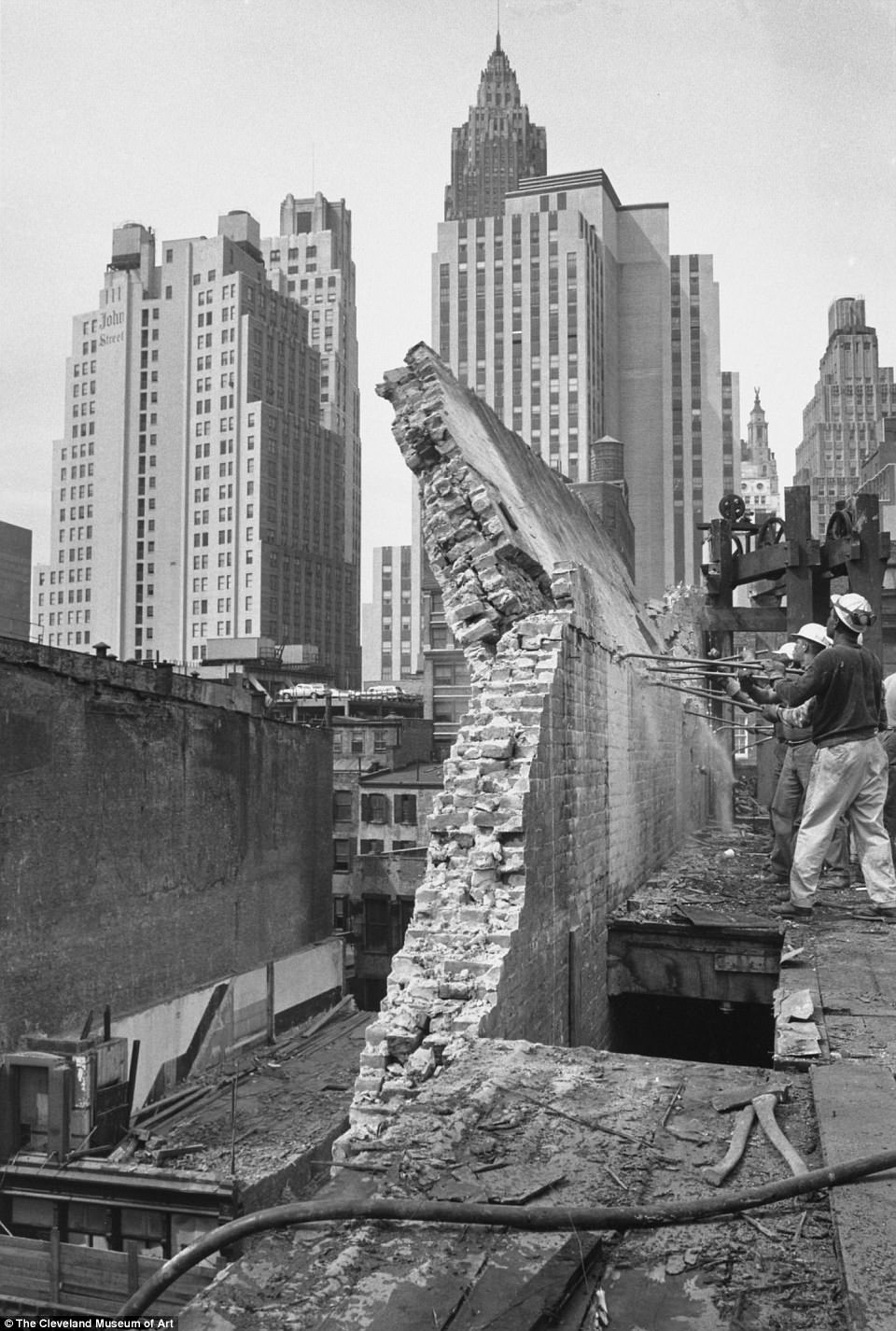 Destruction of old New York seen in mid1960s photos