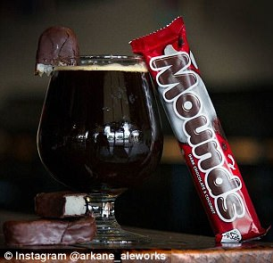 Trick or treat! Arkane Aleworks loaded up its bar menu with candy-flavored beers for Halloween in 2017