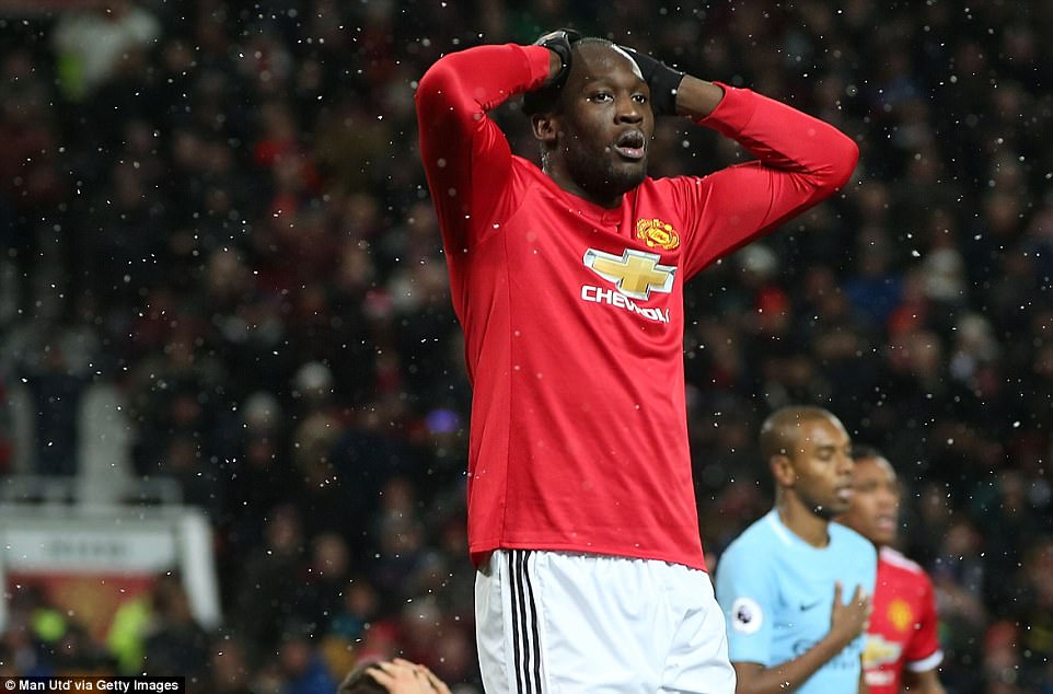 Punches were thrown and Romelu Lukaku was accused of throwing a bottle back towards the City players in retaliation