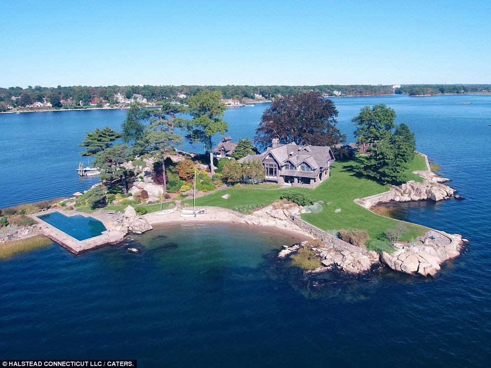 Connecticut private island goes on sale for 87million