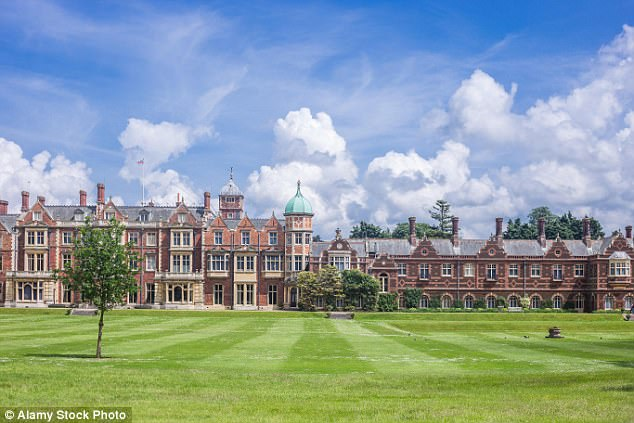 This year there will be a new guest when the Royals gather at the Sandringham estate in Norfolk on Christmas Eve, in the shape of Harry's actress fiancee, Meghan Markle