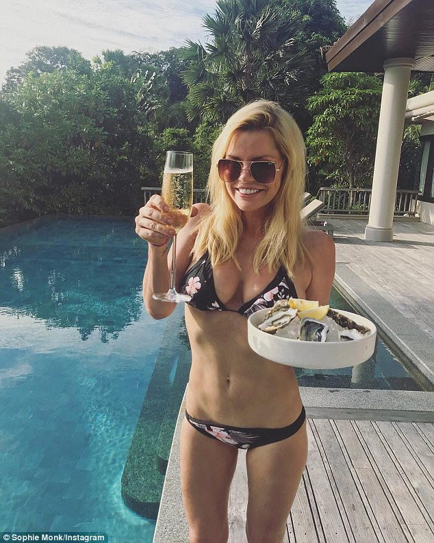 Cheers to the new year! On Sunday the blonde bombshell was also announced as Cosmopolitan's Woman of the Year, a title she felt honoured to receive