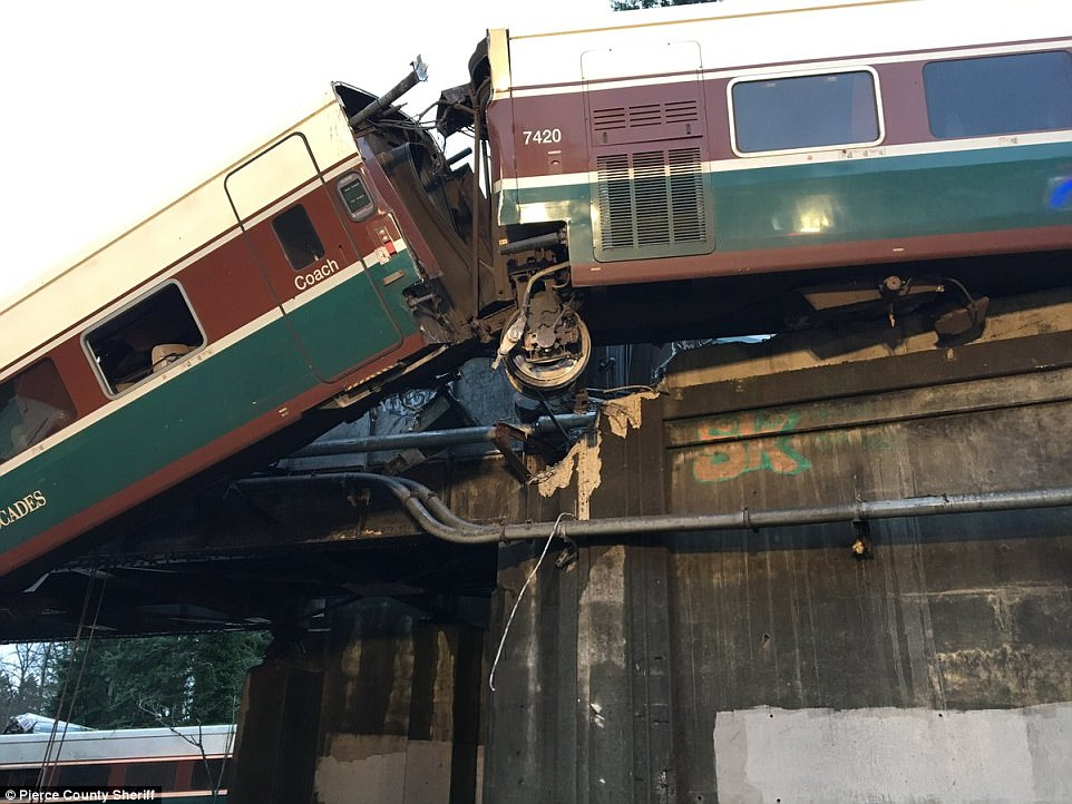 It's still unclear what caused the train to derail Monday morning. The NTSB will be investigating