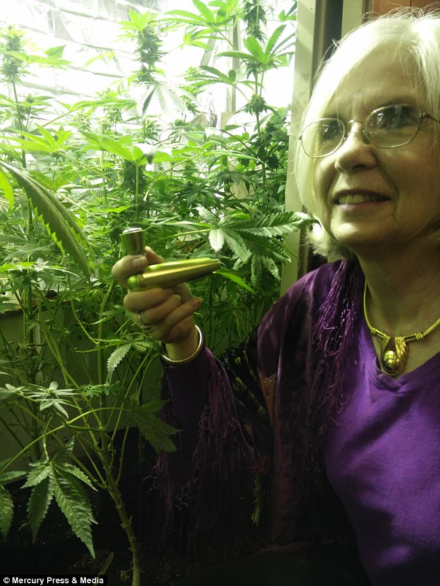 She believes the drug 'prevents illnesses' and uses it for her arthritis, sciatica and insomnia