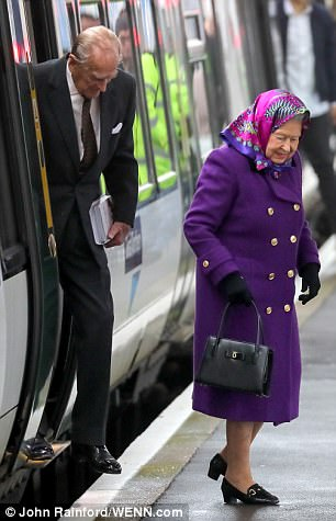 The Queen was carrying a Launer handbag