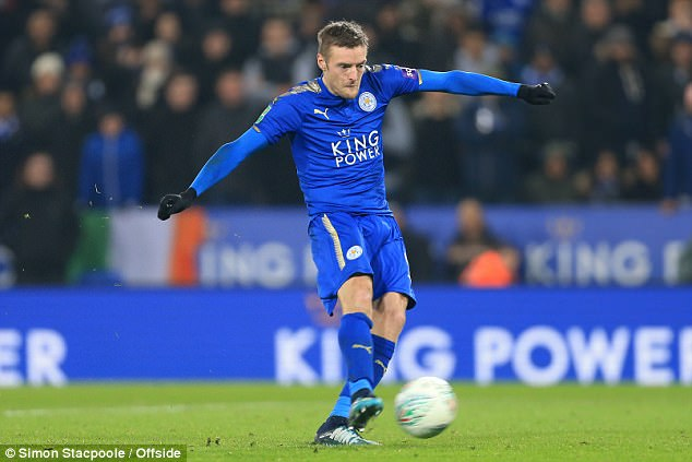 Vardy will be out to pile the misery on Manchester United this weekend after their cup loss
