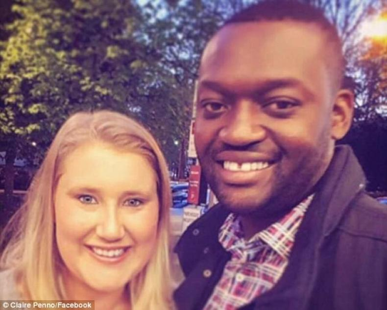 MsPenno, 32, and her daughter reportedly died 'on the spot' after Ms Penno's husband, Emmanuel Mpofu, lost control of the car they were travelling in near Victoria Falls on Thursday