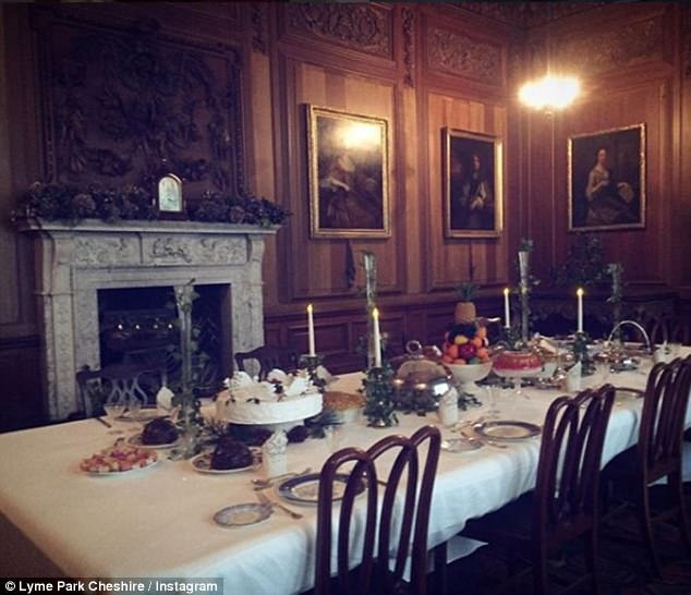 True spirit of Christmas: The set-up of the Regency Christmas emphasises time with family