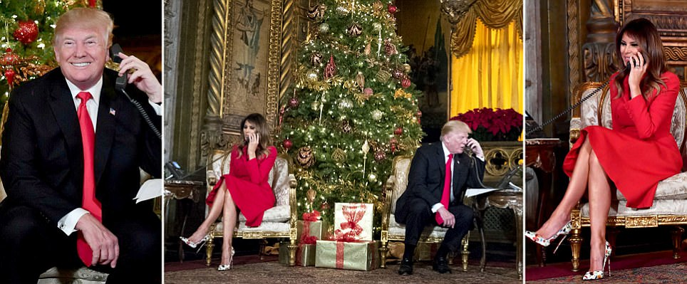 Trumps surprise kids calling NORAD to track Santa Claus