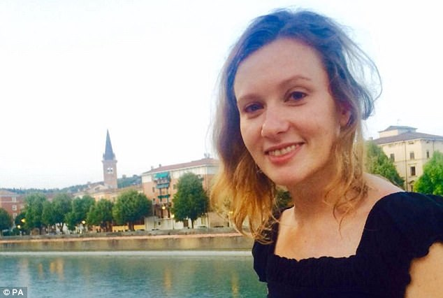 An Uber driver has been sentenced to death for the rape and murder of British embassy worker Rebecca Dykes (pictured) nearly two years ago