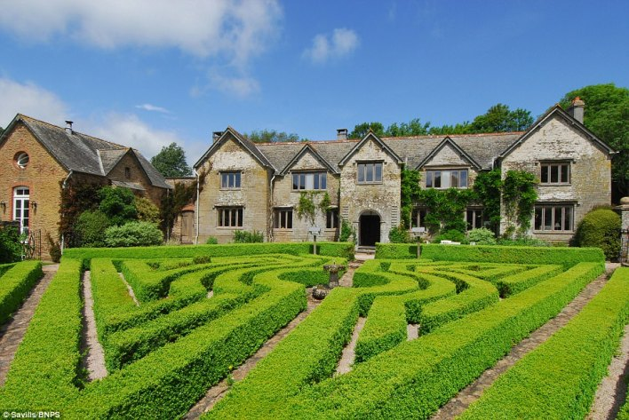 Breathtaking Ranscombe Manor in Devon, surrounded by the South Hams rolling countryside near Kingsbridge,  is now on the market for £2.95million