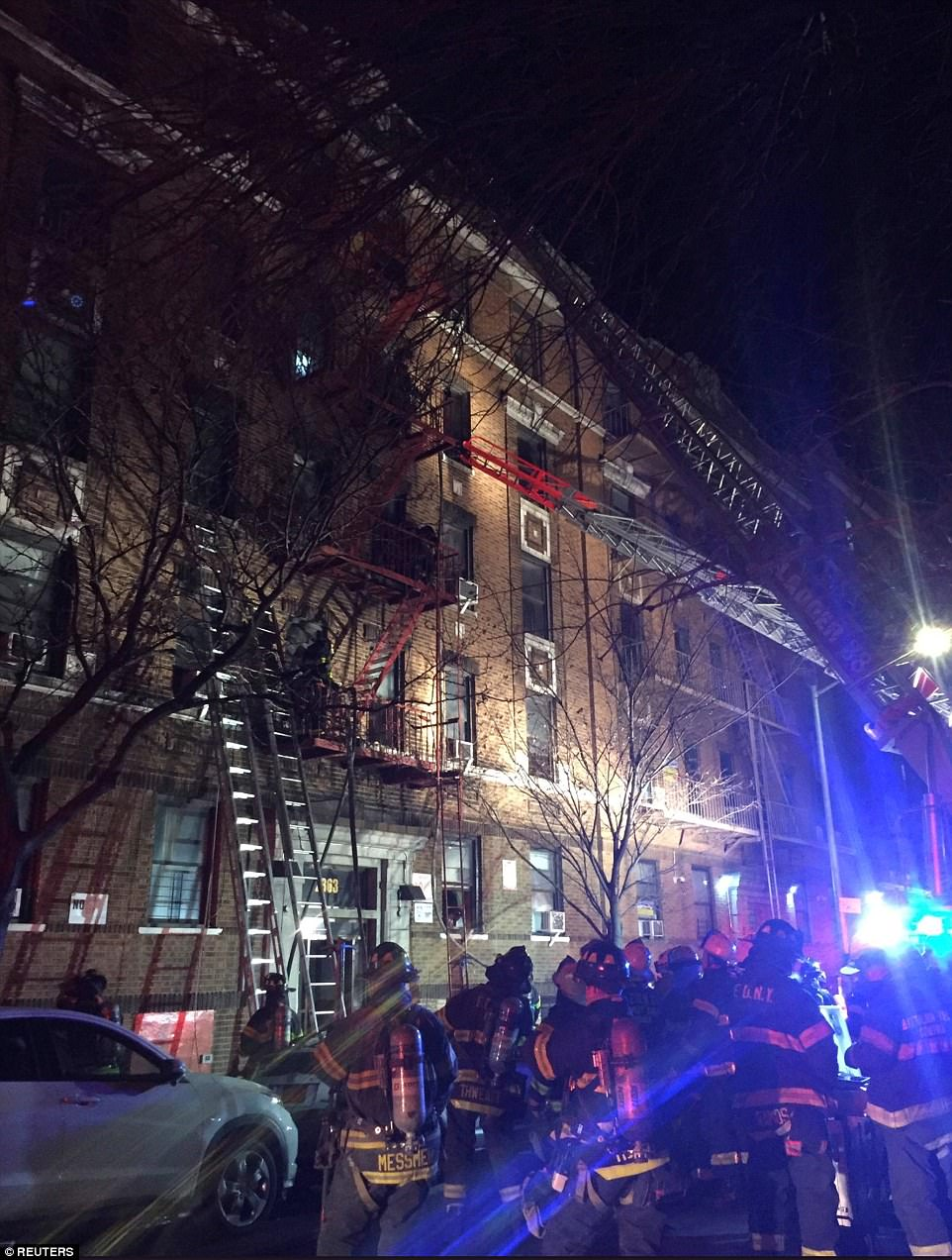 City Department of Buildings records show the building is a walk-up apartment house