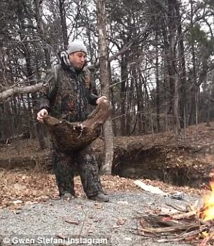In one video, Gwen catches her older brother throw a dense chunk of wood in the fire with creates even more flames