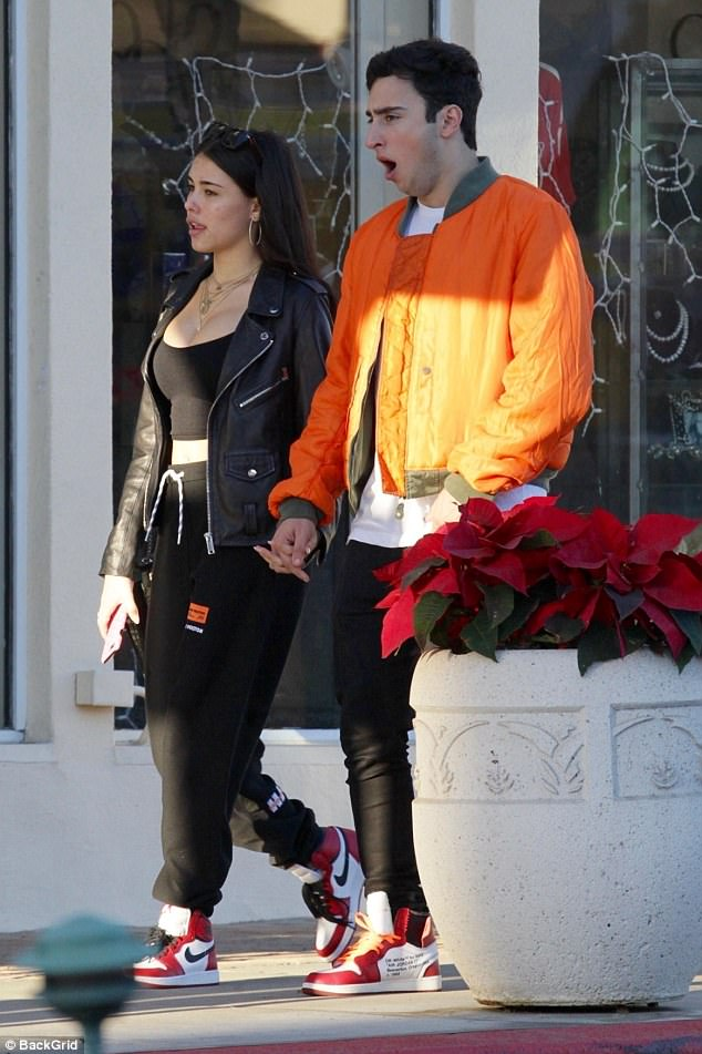 Madison Beer has lunch date with new boyfriend Zack Bia
