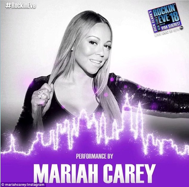 Rock out! All eyes will be on Mariah as she confirmed her return to Dick Clark's New Year's Rockin' Eve with Ryan Seacrest after last year's debacle