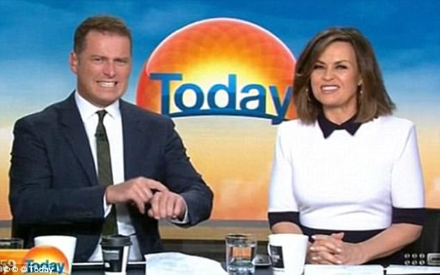 Ten we're coming for you! Lisa said the most 'meaningful response' has come from fathers of young boys and girls who find the pay gap deplorable (with her former co-host Karl Stefanovic)