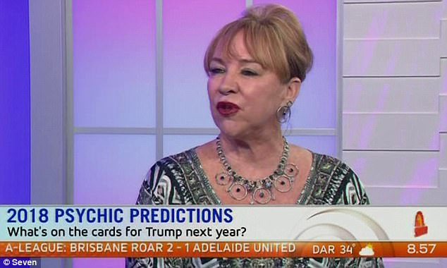 Psychic powers: Kerrie Erwin opened up about some of her grander predictions for 2018
