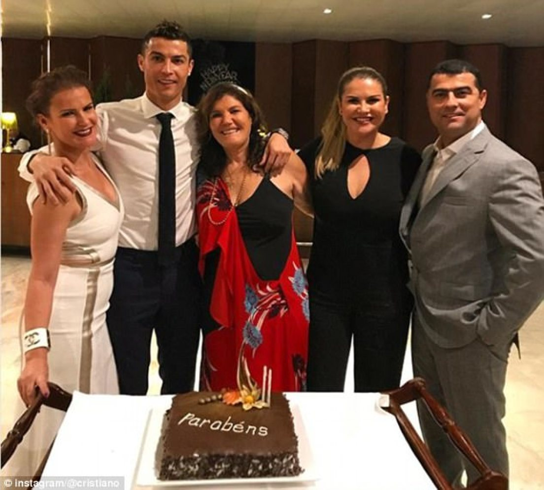 Sports stars have been seeing in the new year with loved ones and family across the globe