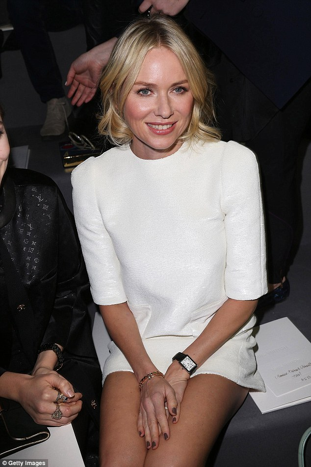 Actress Naomi Watts, 49, (seen in 2013) has also sought out the skills of Immunocologie founder Karen