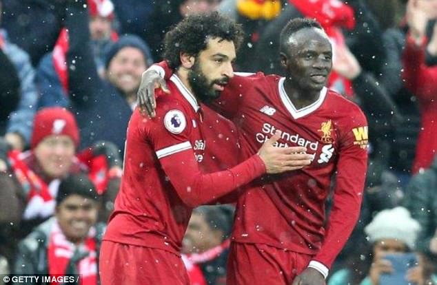 Image result for Salah, Mane to jet in 24hrs to Liverpool-Everton clash