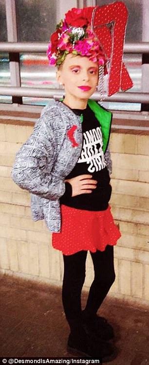 Mucho tiempo atrás: comenzó a vestirse de drag como un niño de seis años