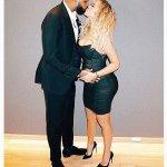 Pregnant Khloe Kardashian Stuns in Black LBD