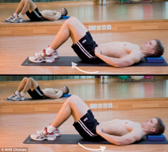 Pelvic tipping is recommended to stretch and strengthen the lower back