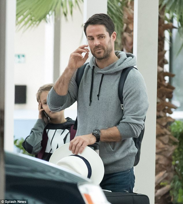 Jamie Redknapp jets to Bahamas after divorce from Louise