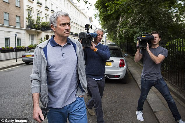 The former Chelsea boss has been spending more and more time at his home in London
