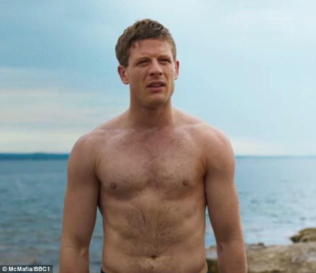 McMafia James Norton Goes Shirtless On Latest Episode