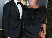 Hugh Jackman and Deborra-lee Furness at Golden Globes ...