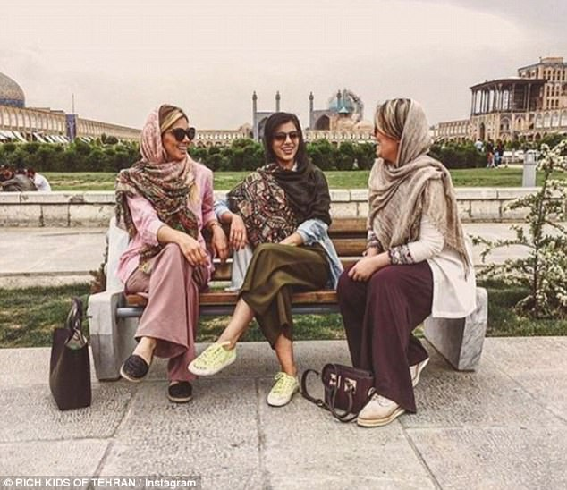 The young and wealthy in Iran have been accused of 'brazenly driving Porsches and Maseratis through Tehran before the eyes of the poor'