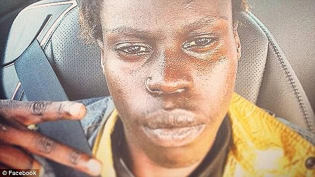 Gatkuoth (pictured) spent 16 months in youth detention after the carjacking and is now being held on Christmas Island. He is appealing against a move to have him deported back to Sudan