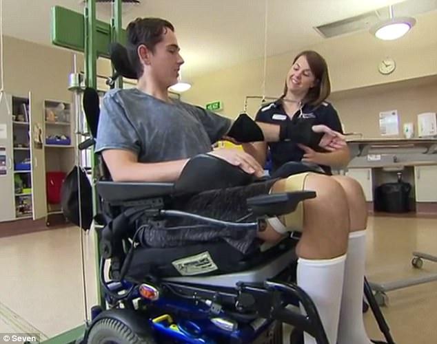 Australian quadriplegic former water polo champs warning