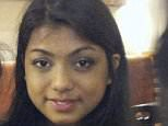 Shahida Shahid, pictured, died after eating a burger that had been marinated in butter milk in Manchester city centre