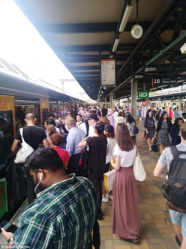 Weary commuters are dealing with a third day of rail chaos in Sydney as early morning services were delayed and cancelled