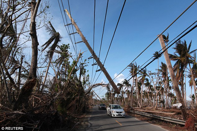 Puerto Rico (above) and other Caribbean islands are still recovering from the devastating hurricane that struck in September last year