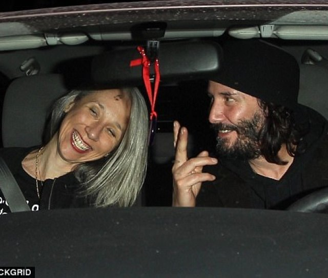 The Mystery Woman Keanu Reeves Was Spotted Out To Dinner With In West Hollywood On Monday