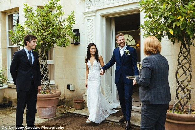 'The wedding dress fitted me perfectly and everything came together exactly as I had hoped - I wouldn't change a thing,' Sarah said