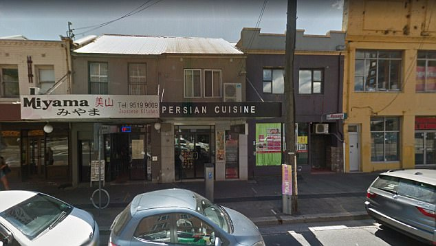 An English woman and her partner were found dead in their tiny flat above a Persian restaurant in Newtown's King Street