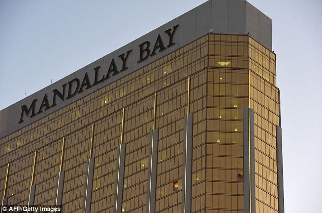 Paddock was found dead of an apparent self-inflicted gunshot wound in the 32nd floor of the Mandalay Bay. Two windows of the suit had been smashed out by gunfire