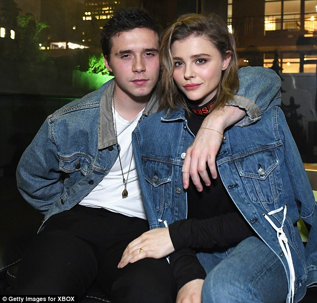 London calling! Just the day before Chloe was in London spending time with boyfriend Brooklyn Beckham. Above, the duo are seen in November together