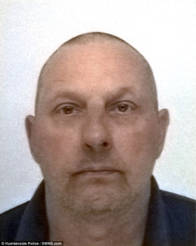 Police are searching for this man, Anthony Lawrence, after a man and woman were allegedly attacked in Southburn, Yorkshire, last night